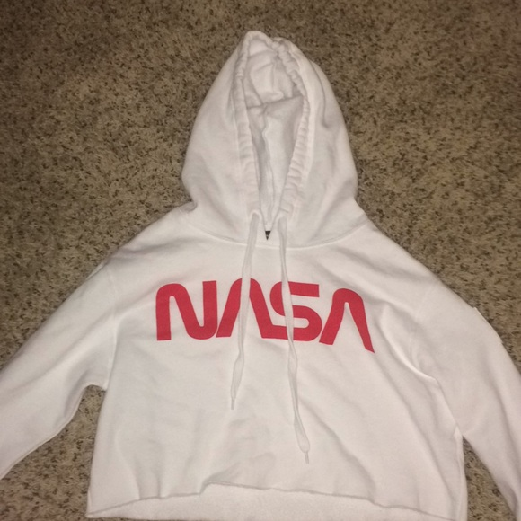 a278416529 Forever 21 Tops - A cropped nasa hoodie